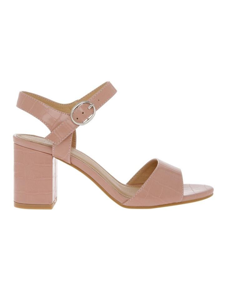 Felicity Blush Croc Sandal image 1