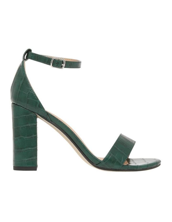 Madison Green Croc Sandal image 1