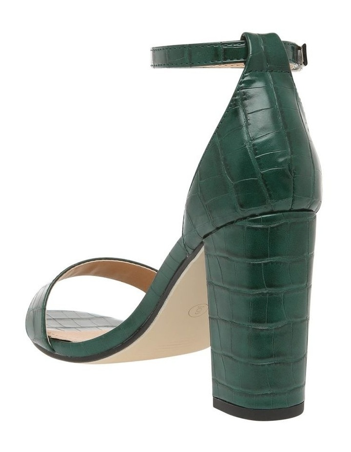 Madison Green Croc Sandal image 2