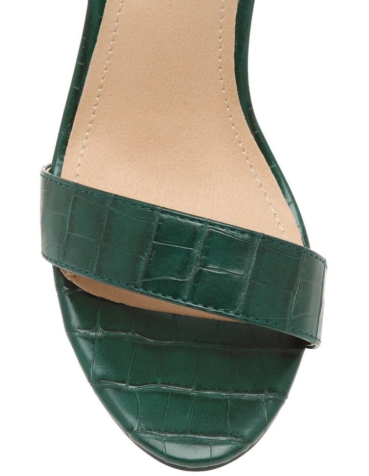 Madison Green Croc Sandal image 3