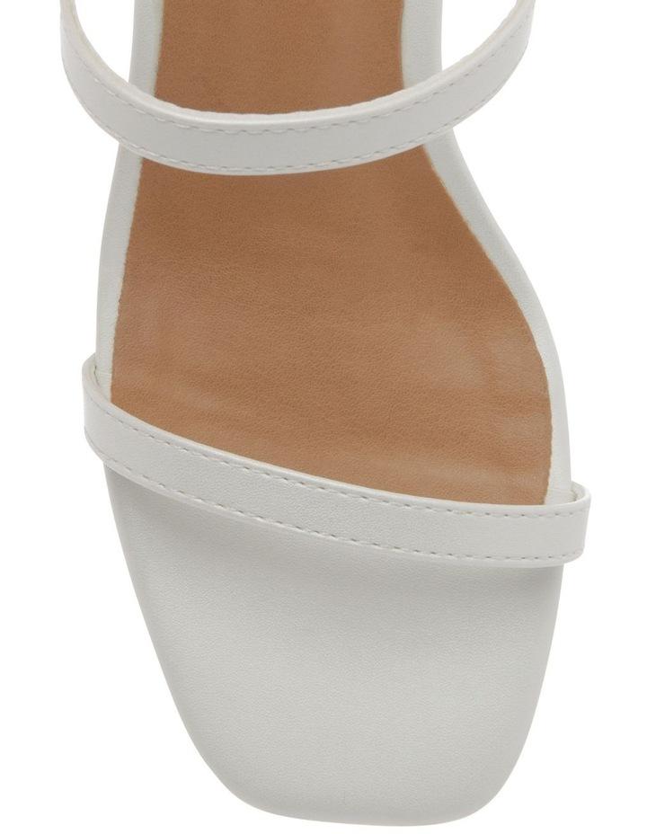 Mimi White Sandal image 3