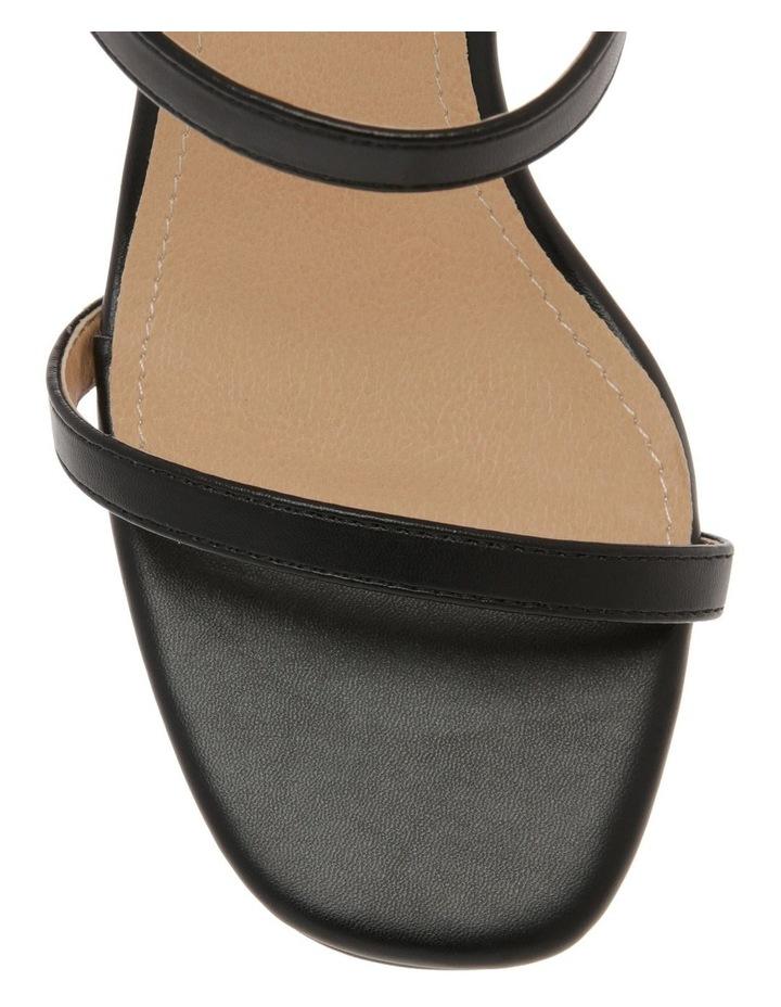 Mila Black Sandal image 2