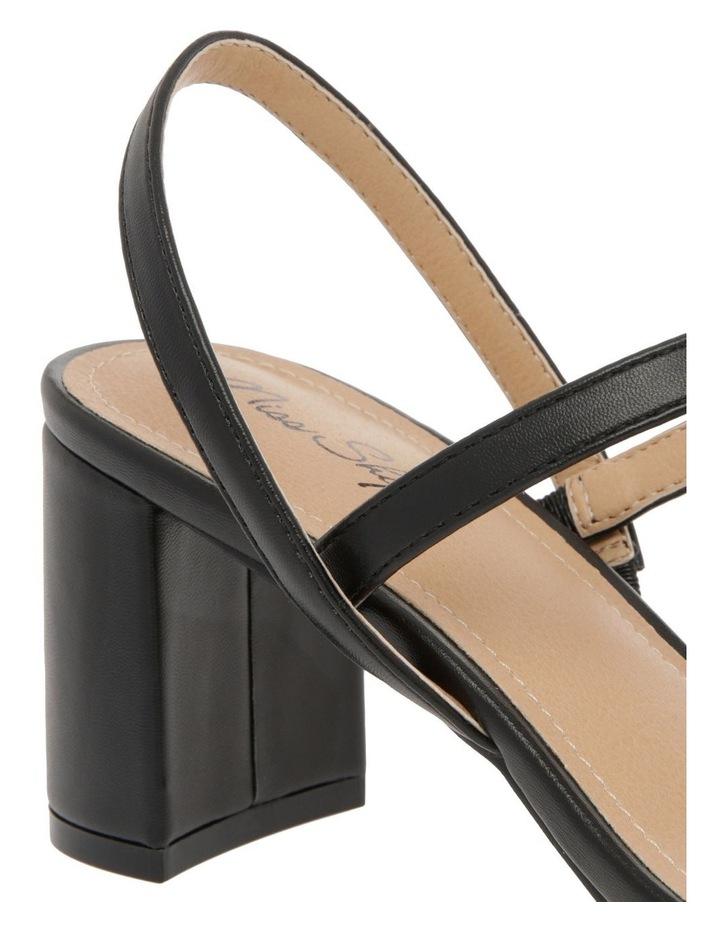 Mila Black Sandal image 4