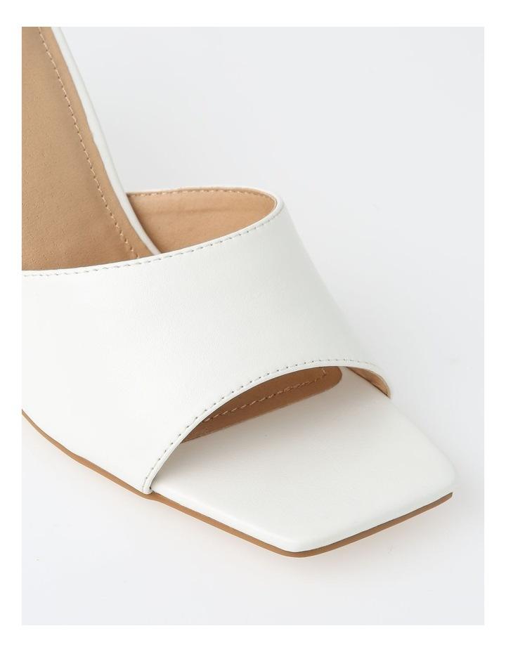 Ava White Stiletto Sandal image 4