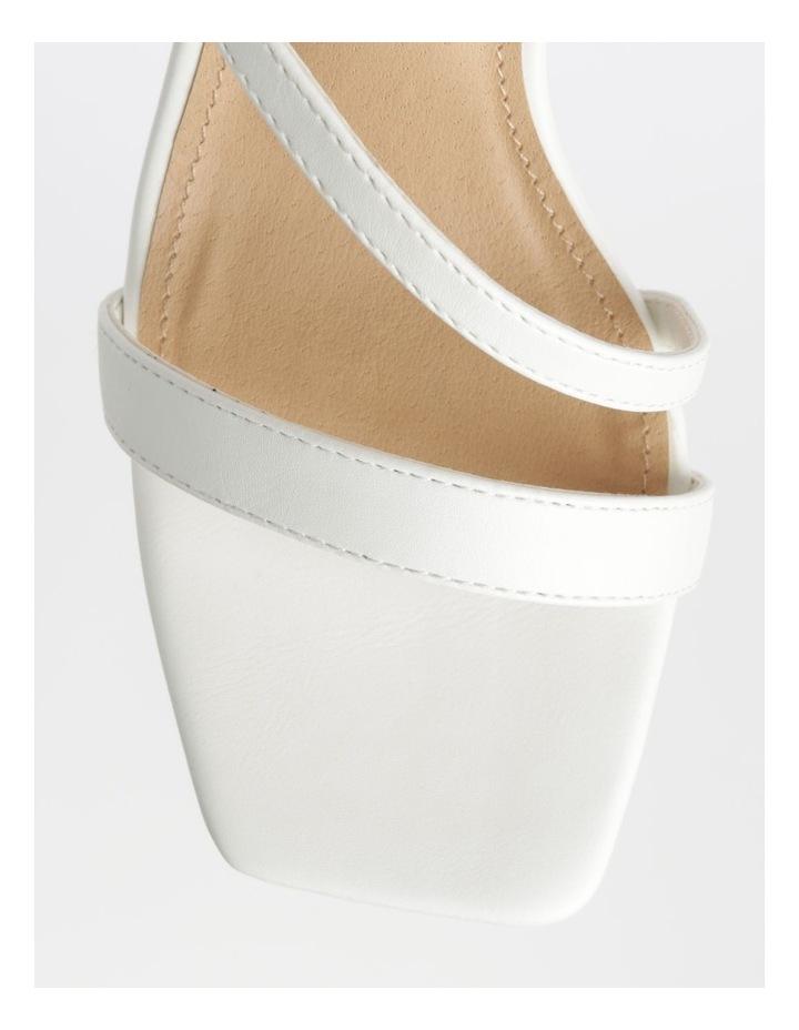Cupid White Sandal image 2
