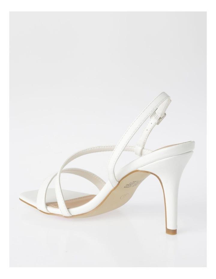 Cupid White Sandal image 3