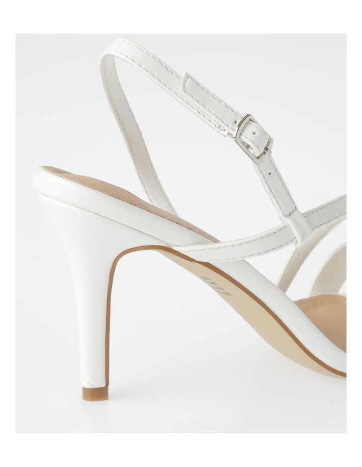 Cupid White Sandal image 4
