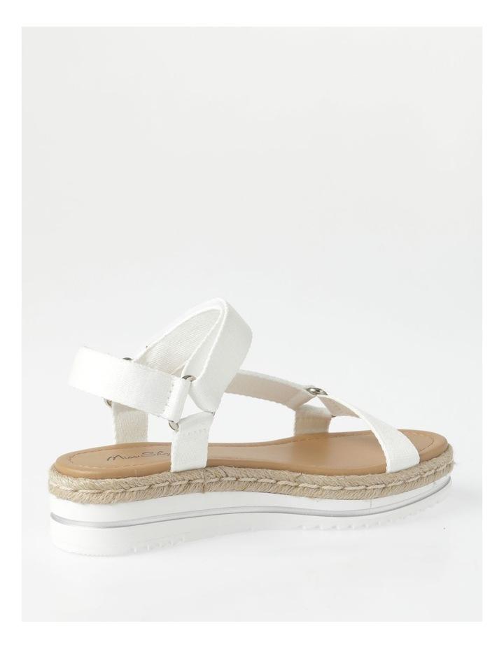 Lanni White Sandal image 3