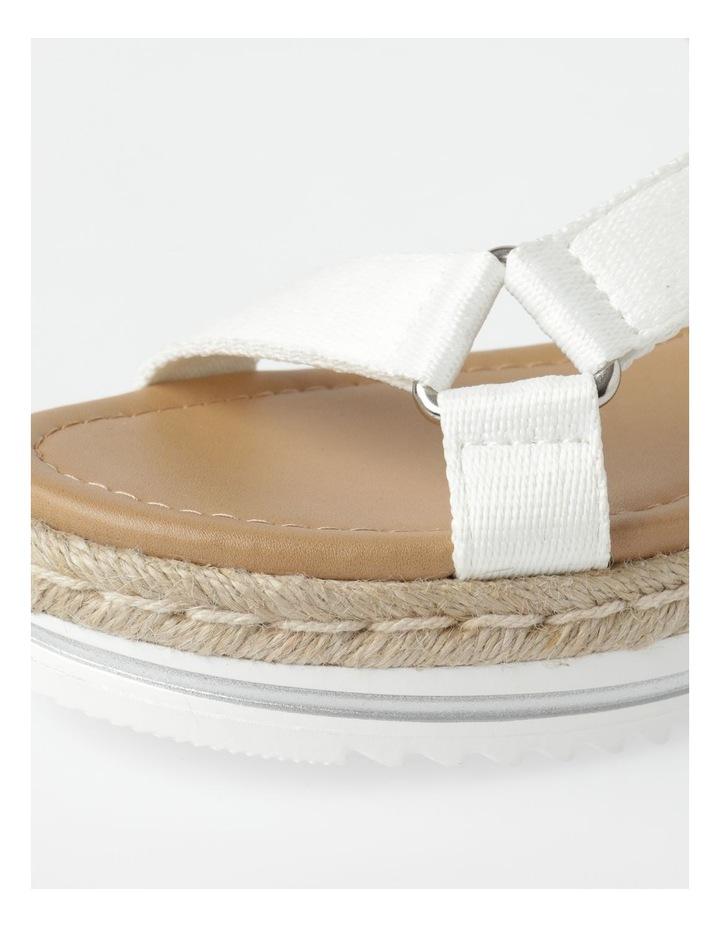 Lanni White Sandal image 4