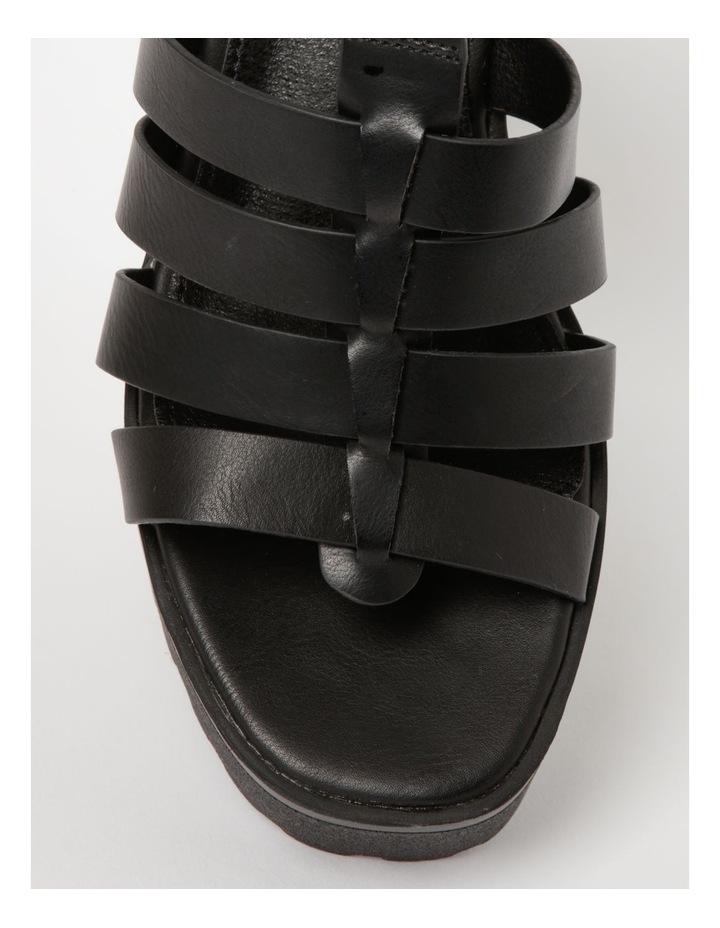Katia Black Sandal image 2