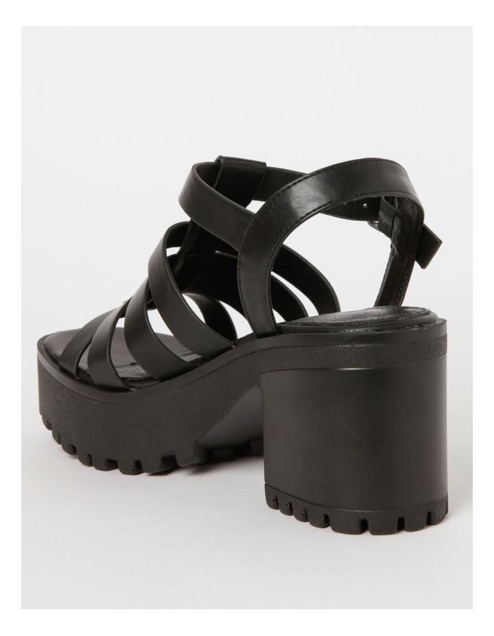 Katia Black Sandal image 3