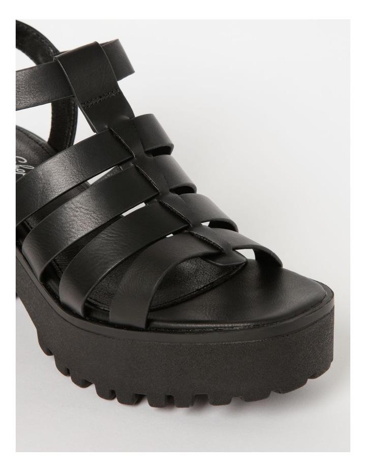 Katia Black Sandal image 5
