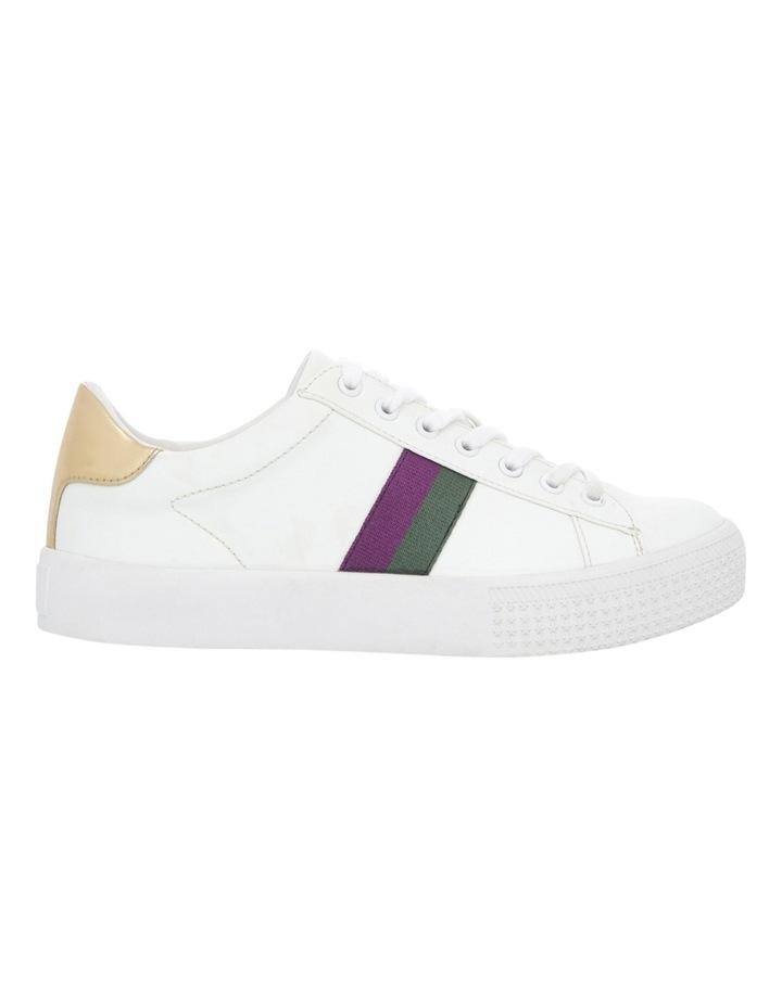 Kenny White/Purple Sneaker image 1
