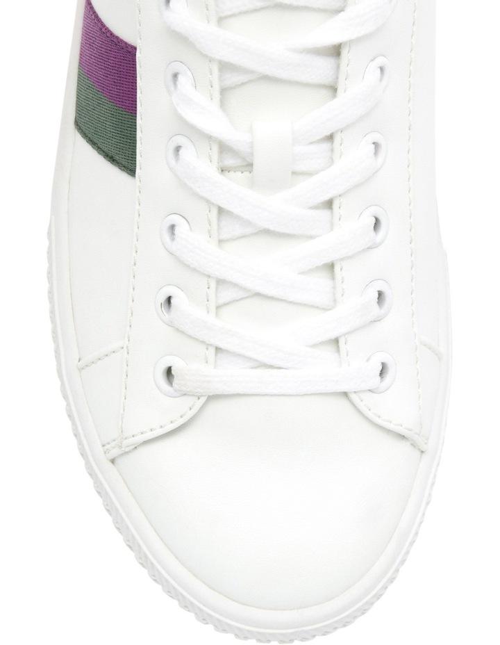 Kenny White/Purple Sneaker image 3