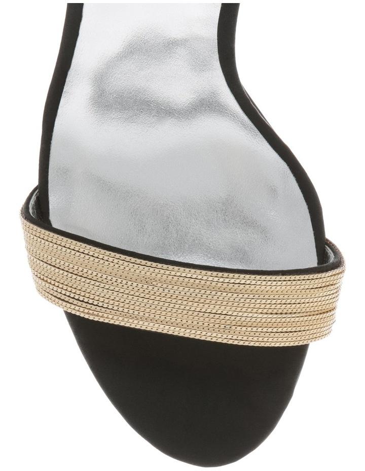 Cara Black Satin Sandal image 3
