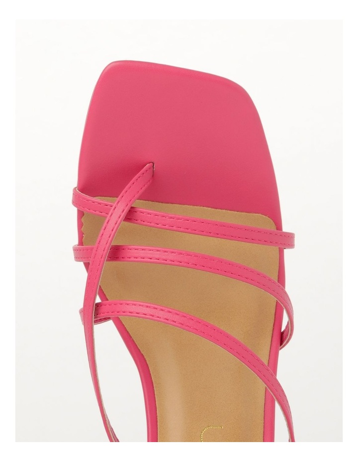 Shani Raspberry Sandal image 2