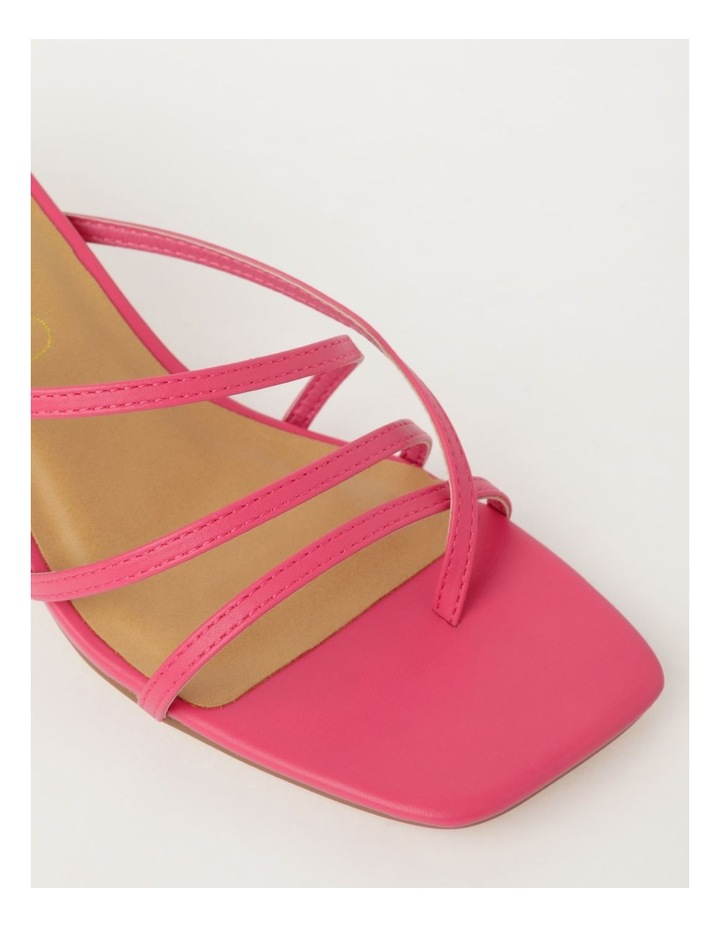 Shani Raspberry Sandal image 4