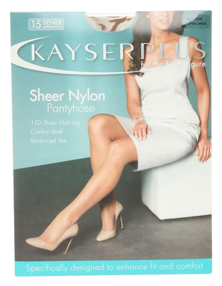 Plus Sheer Nylon P/Hose H10840 image 2