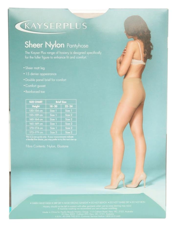 Plus Sheer Nylon P/Hose H10840 image 3