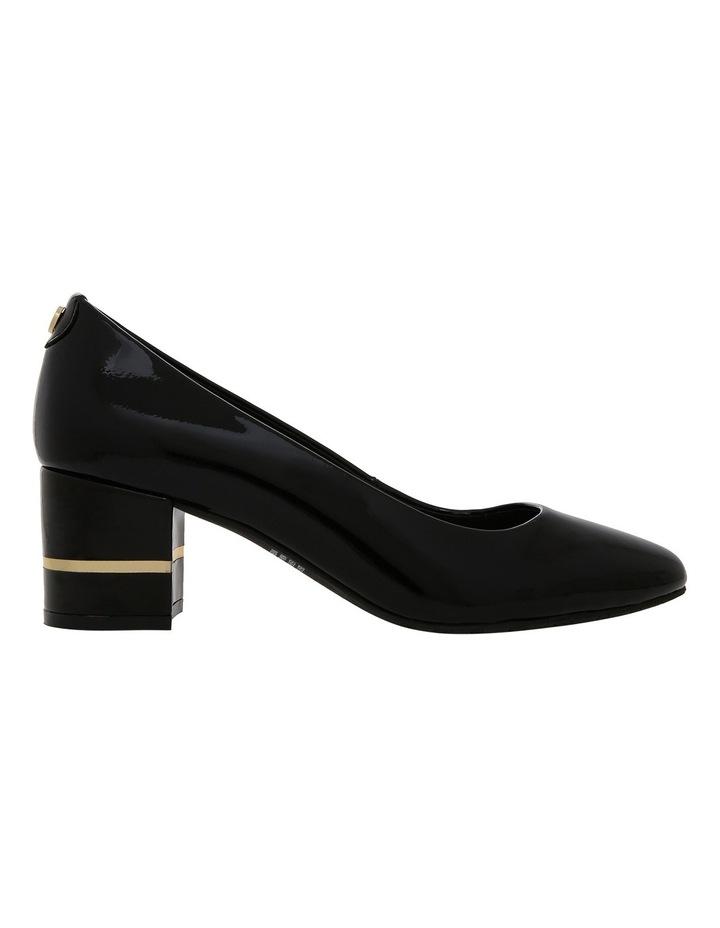 Geri Black Patent Leather Heel image 1