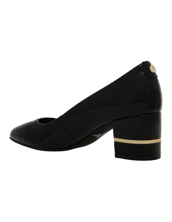 Geri Black Patent Leather Heel image 2