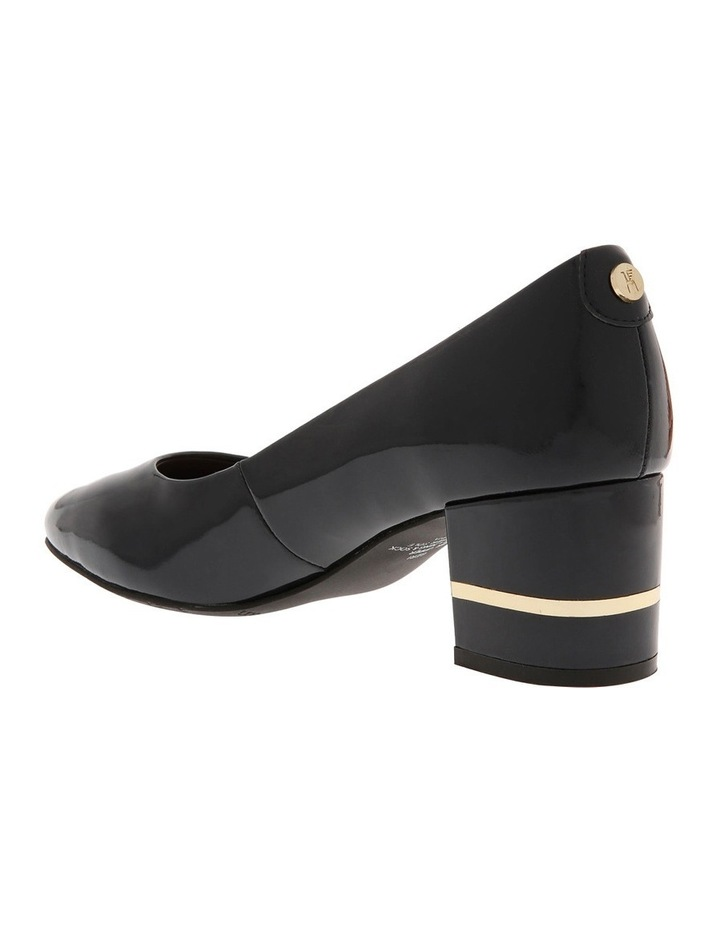 Geri Navy Patent Leather Heel image 2