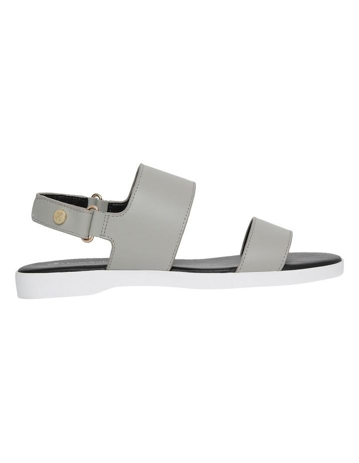 Olympia Grey Leather Sandal image 1