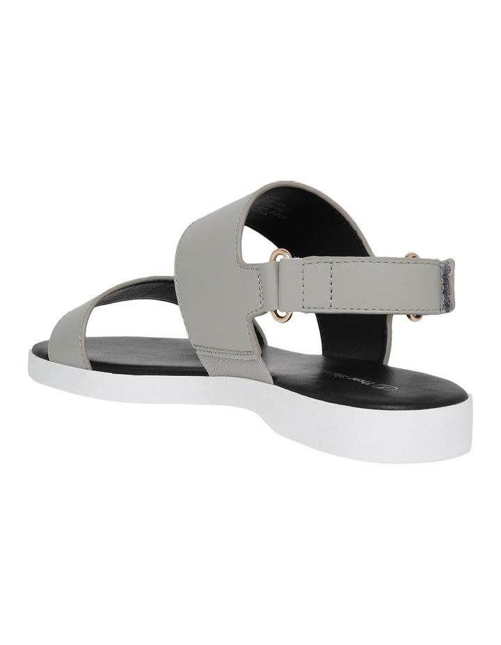 Olympia Grey Leather Sandal image 2