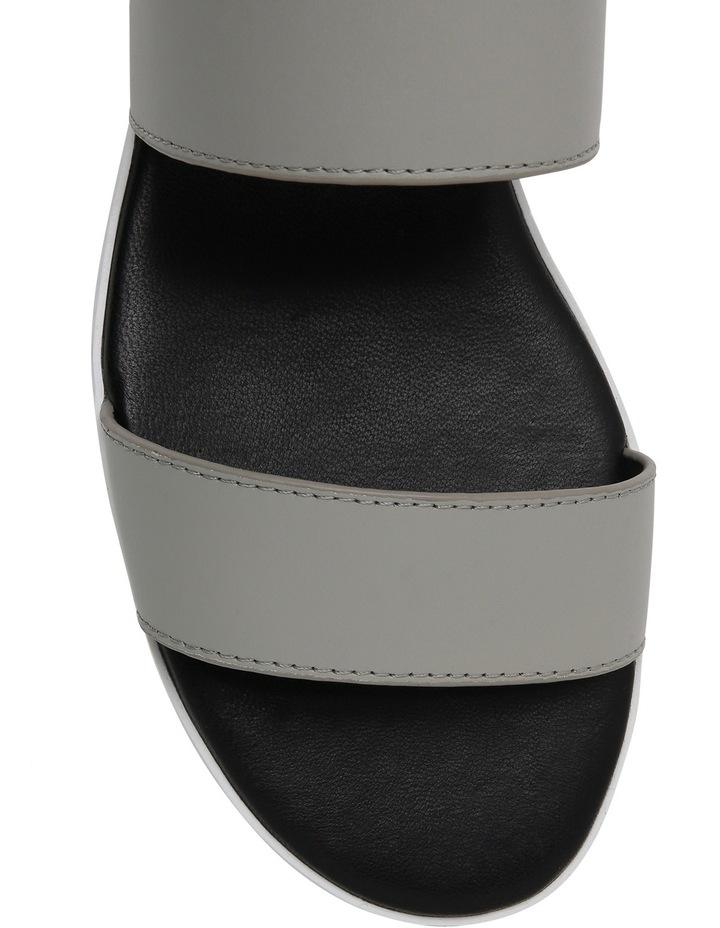 Olympia Grey Leather Sandal image 3