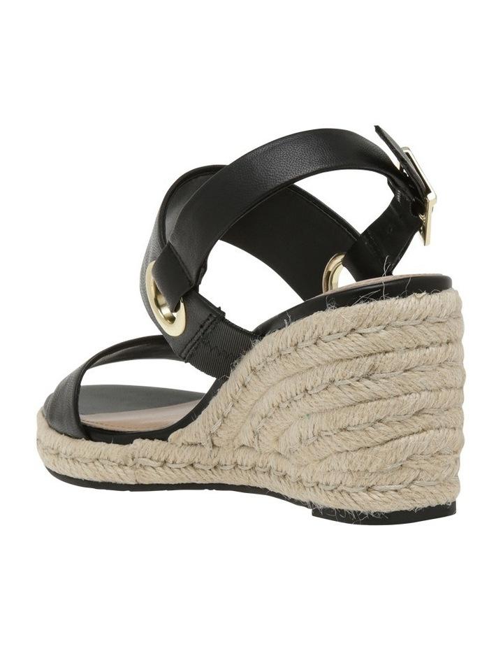 Roslyn Black Leather Sandal image 2
