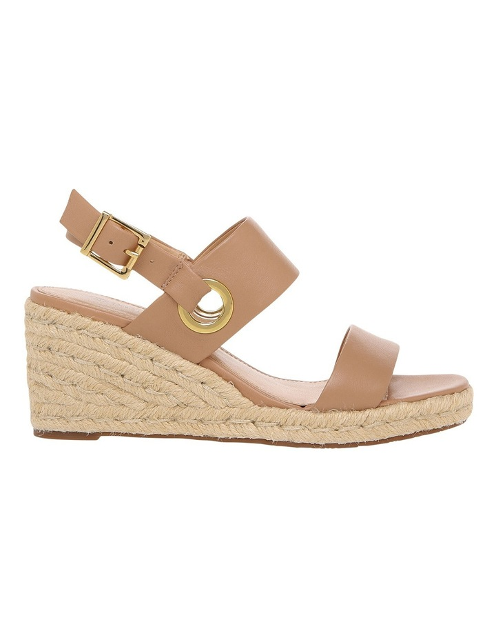 Roslyn Nude Leather Sandal image 1