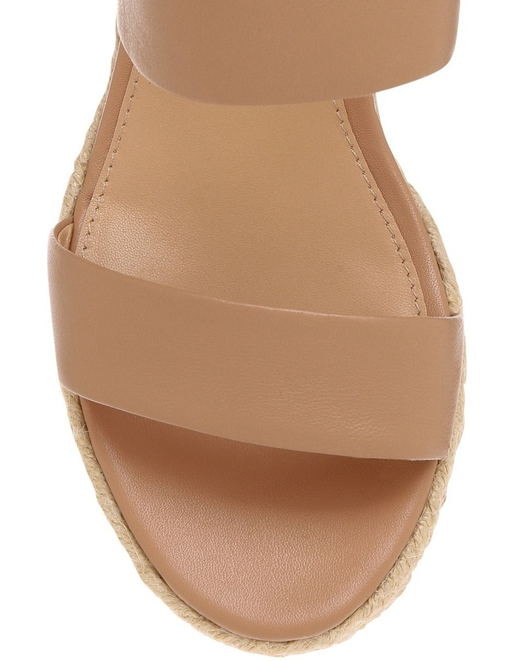 Roslyn Nude Leather Sandal image 3
