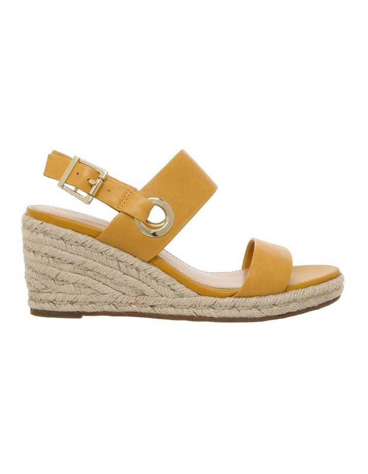 Roslyn Mustard Leather Sandal image 1
