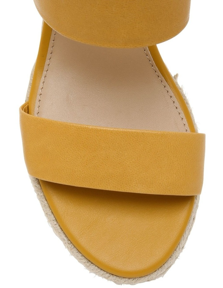 Roslyn Mustard Leather Sandal image 3