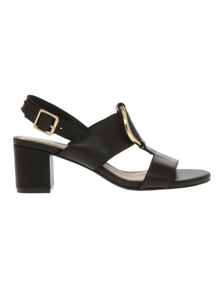 Regina Black Leather Sandal image 1