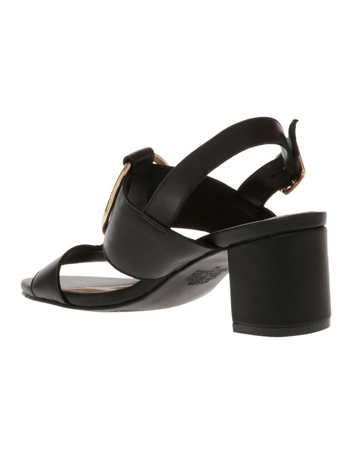 Regina Black Leather Sandal image 2