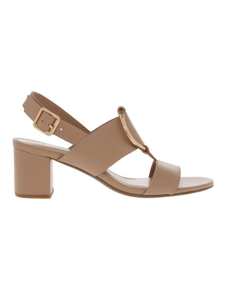 Regina Nude Leather Sandal image 1