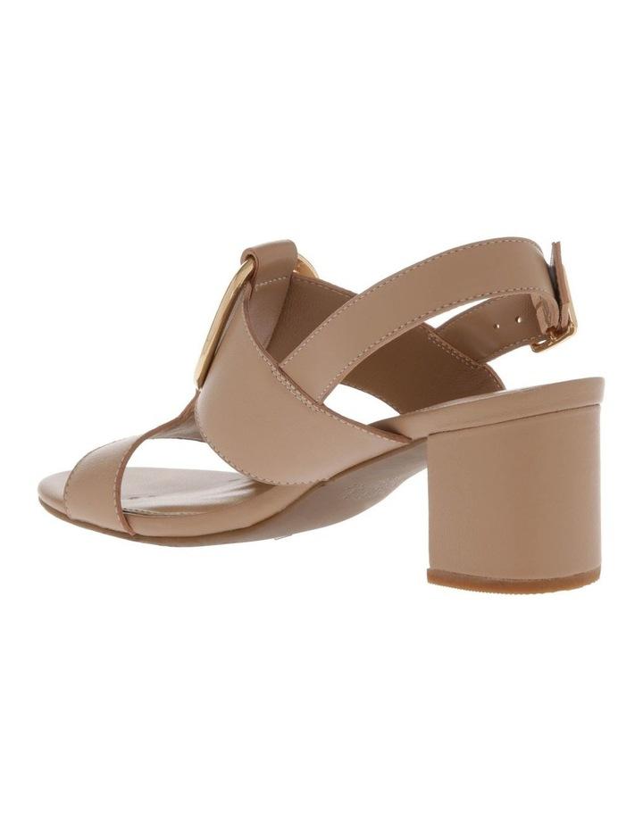 Regina Nude Leather Sandal image 2