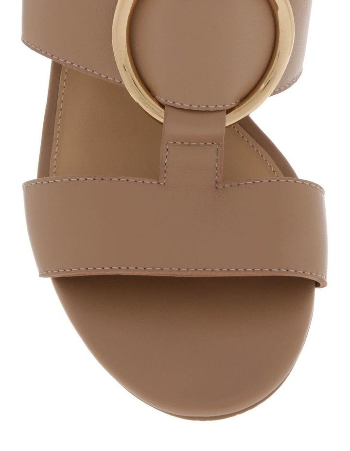 Regina Nude Leather Sandal image 3