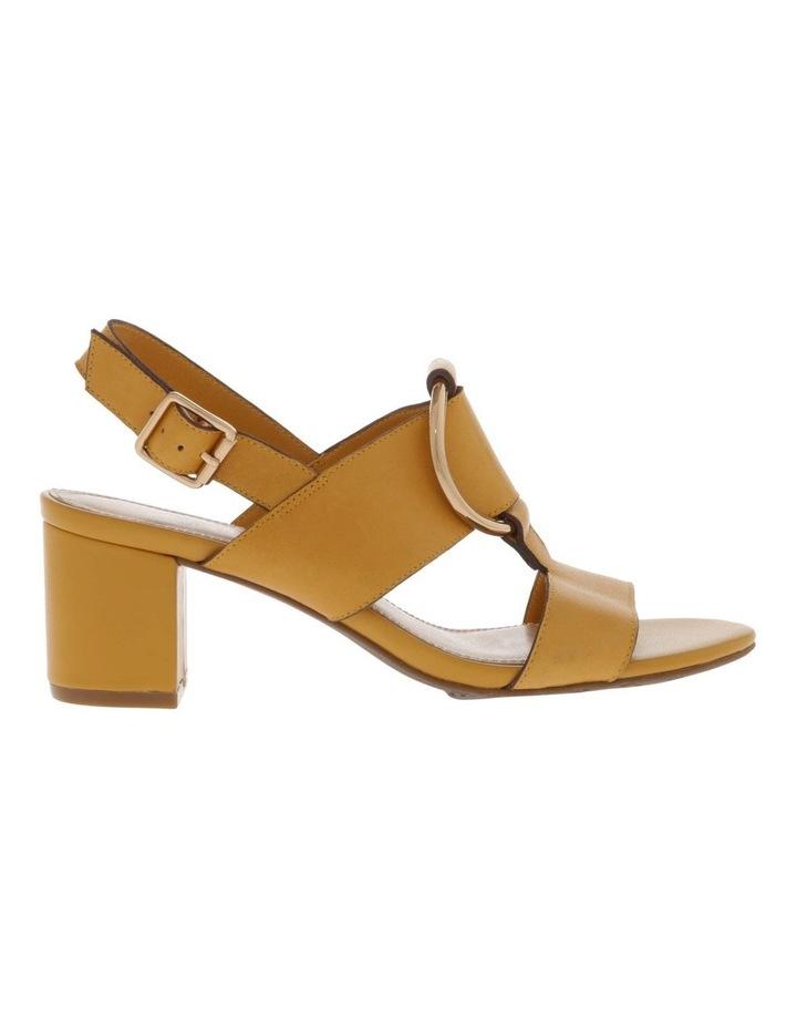 Regina Mustard Leather Sandal image 1