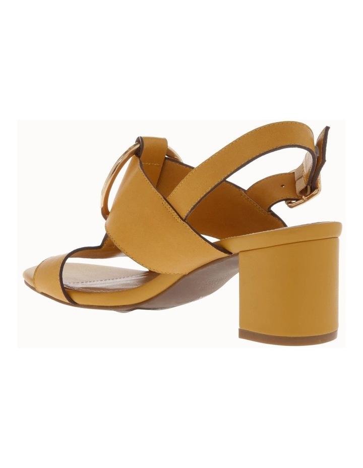 Regina Mustard Leather Sandal image 2