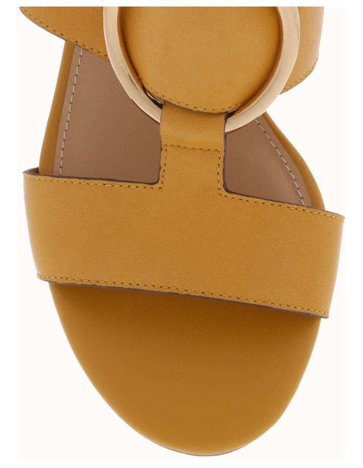 Regina Mustard Leather Sandal image 3