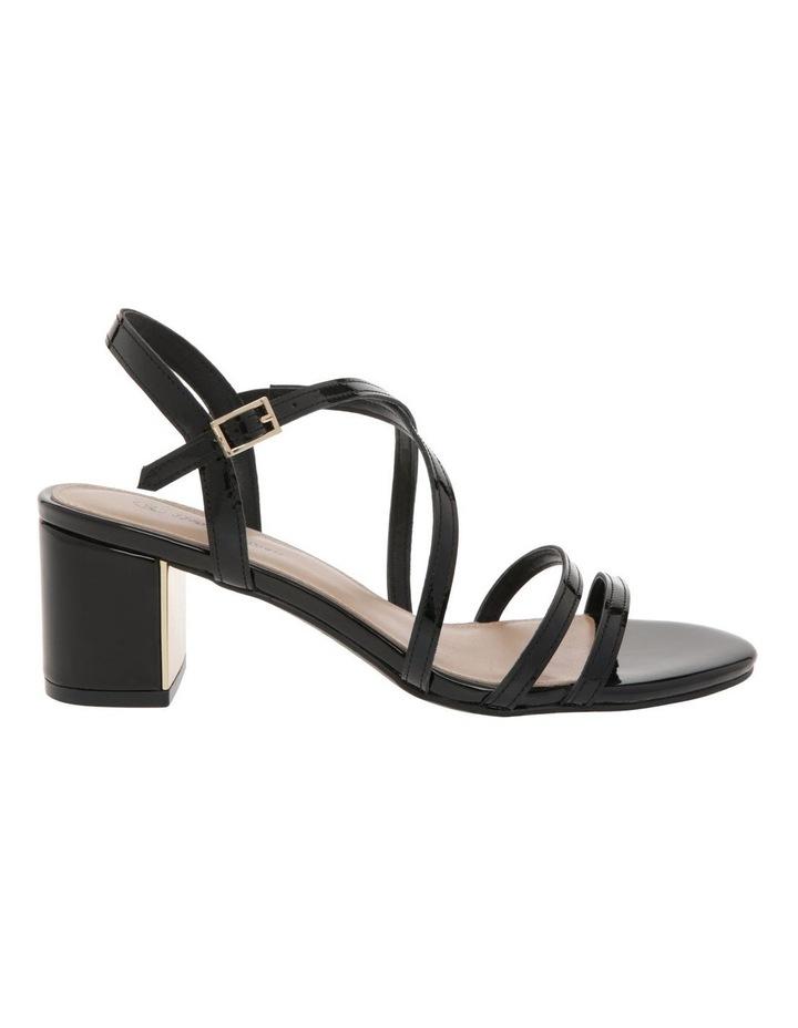 Renata Black Patent Leather Sandal image 1