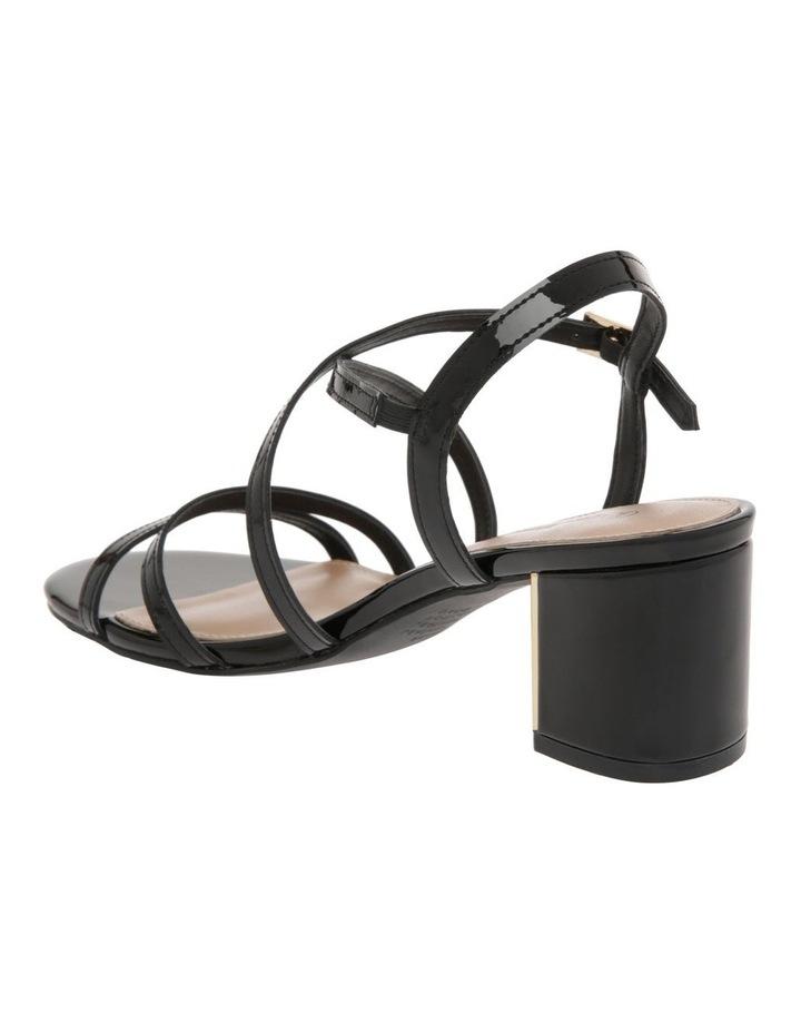 Renata Black Patent Leather Sandal image 3