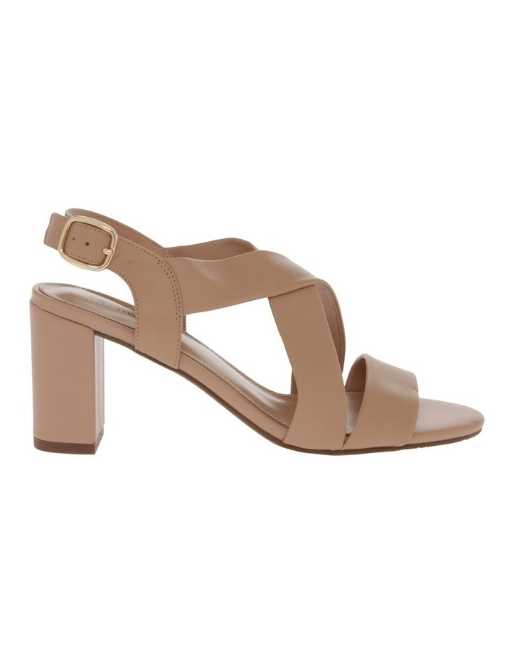 Uma Beige Leather Sandal image 1