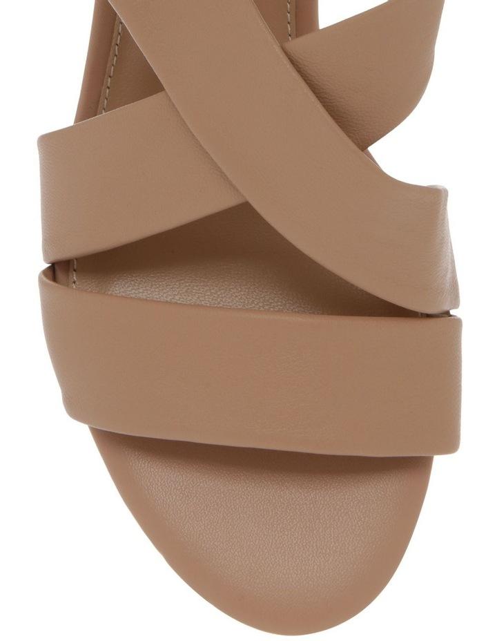 Uma Beige Leather Sandal image 2