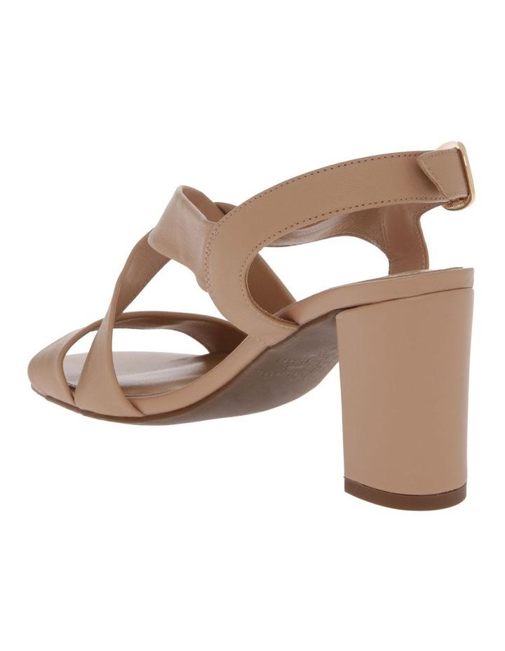 Uma Beige Leather Sandal image 3