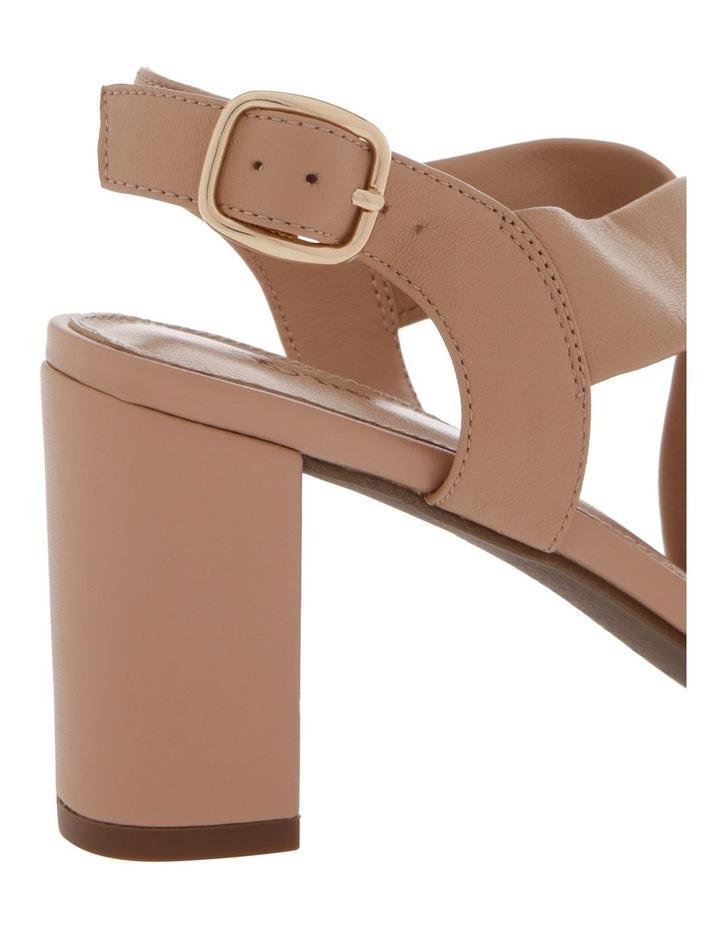 Uma Beige Leather Sandal image 4