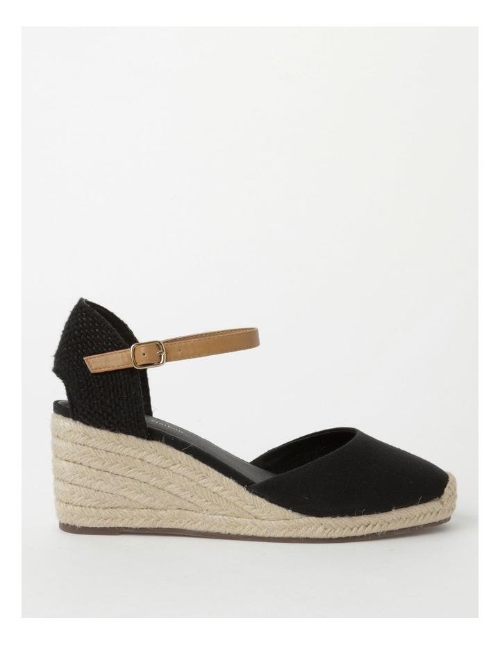 Tenerife Heeled Black Shoe image 1