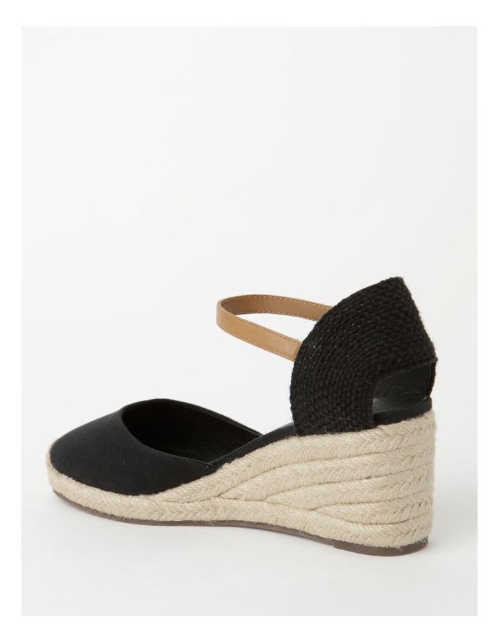 Tenerife Heeled Black Shoe image 3